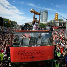 NBA: Two injured in shooting during Toronto Raptors' victory parade