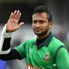 Bangladesh Cricket Board to take legal action against Shakib Al Hasan for breach of contract