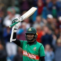Coronavirus: Bangladesh all-rounder Shakib Al Hasan to auction 2019 World Cup bat for donation