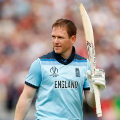 Watch England vs Afghanistan match highlights: Eoin Morgan's ton takes hosts closer to semifinals