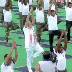 The big news: Narendra Modi leads International Yoga Day event in Ranchi, and nine other top stories