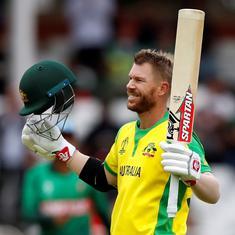 Watch Australia vs Bangladesh match highlights: David Warner's ton takes Aussies closer to semis