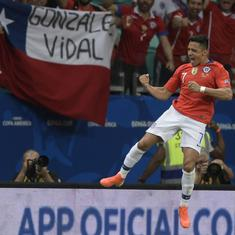 Copa America: Alexis Sanchez winner against Ecuador takes Chile in quarter-finals