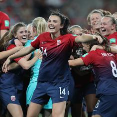 Women's World Cup: Norway dump Australia out on penalties to join Germany in quarter-finals