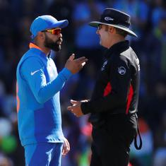 World Cup 2019: ICC fines Virat Kohli 25% match fee for excessive appealing against Afghanistan