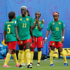 Cameroon coach hits out at 'injustice' in England game after crashing out of Women's World Cup