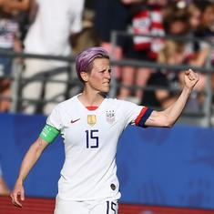 A matter of caring enough: USA's Megan Rapinoe slams Fifa's lack of respect for women's football