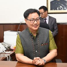 Everything, including cricket, will come under the new sports code: Kiren Rijiju