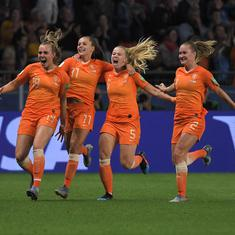 Women's World Cup: Last-minute penalty helps Netherlands beat Japan, Italy end China's campaign