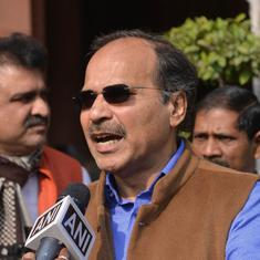 Kashmir is now like a concentration camp, claims Congress leader Adhir Ranjan Chowdhury