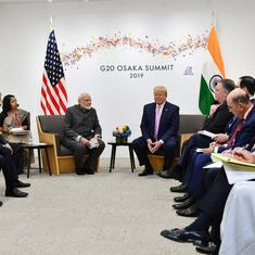 The big news: Modi, Trump meet ahead of G20 summit opening in Osaka, and nine other top stories