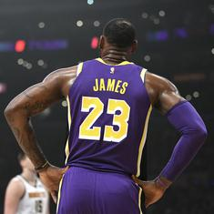 Nike's objections delay LeBron James jersey number 23 swap with Anthony Davis: Reports