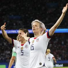 Fifa Women's World Cup: Rapinoe brace helps USA beat France 2-1 and book semi-final spot