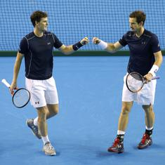 Hopefully, soon: Andy Murray hints at singles return after pairing with brother Jamie for Washington
