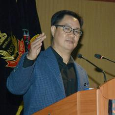 Don't do anything that gets you suspended: Rijiju to national federations after turmoil in archery