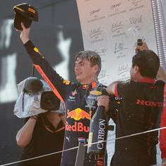 Austrian GP: Max Verstappen ends Mercedes winning run in thrilling fashion but stewards investigate