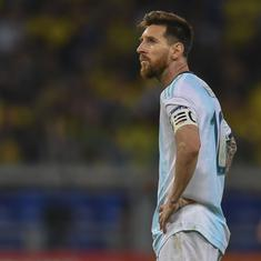 Messi banned from Argentina for three months over CONMEBOL criticism during Copa America