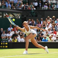 Wimbledon, Day 3 women's roundup: 15-year-old Gauff, Pliskova impress; Halep set to meet Azarenka