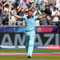 World Cup: Jonny Bairstow scores second consecutive century to power England into semi-finals