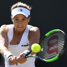 Wimbledon, Day 4 women's roundup: Defending champ Kerber knocked out; Barty, Serena advance