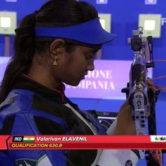 Shooting: Elavenil Valarivan bags 10m Air Rifle silver in World University Games