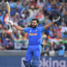 World Cup 2019: Here are all the big numbers from Rohit Sharma's historic century against Sri Lanka