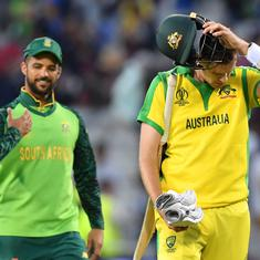 World Cup 2019: Australia suffer 10-run defeat to South Africa, to face England in semi-finals