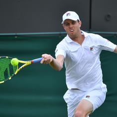Tennis: Sam Querrey faces sanction after fleeing Russia despite testing positive for coronavirus