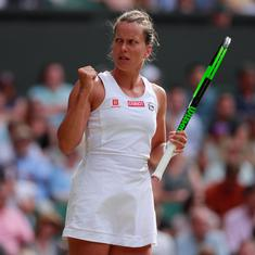 Wimbledon: Barbora Strycova reaches first singles Grand Slam semi-finals at 33
