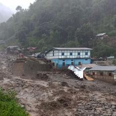 Arunachal Pradesh: At least 200 people evacuated as flash floods hit West Kameng district