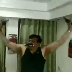 Watch: Suspended BJP leader Pranav Singh is in the news again, this time for flaunting guns