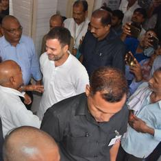 'Feels like coming home', says Rahul Gandhi on first visit to Amethi after Lok Sabha poll defeat