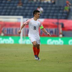 It's no longer about me: Chhetri says Indian football team's youngsters are in better shape than him