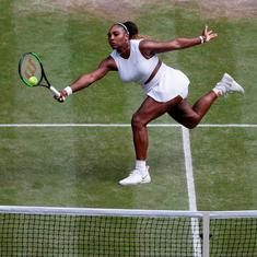 A chance for Grand Slam No 24: Serena Williams sails into second straight Wimbledon final