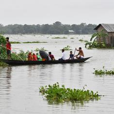 Assam flood victims go back to fetch NRC documents, some refuse to leave homes