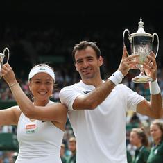 Wimbledon: Latisha Chan and Ivan Dodig win mixed doubles title