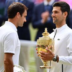Federer wins more points but Djokovic the match: The big numbers from the longest Wimbledon final