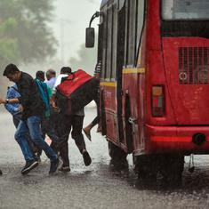 Rain lashes parts of Delhi-NCR, light showers likely to continue till Thursday