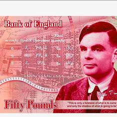 Alan Turing, the father of modern computing, to feature on Britain's new £50 note