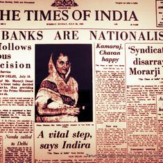 July 19, 1969: Fifty years ago, India nationalised 14 private banks. This is how it was done