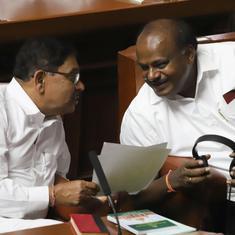 कर्नाटक संकट : बहुमत परीक्षण के बगैर सदन की कार्यवाही स्थगित, विरोध में भाजपा विधायक धरना देंगे