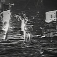 Watch: July 20, 1969. Humans set foot on the moon for the first time ever