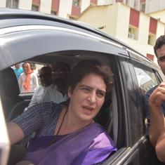 Top news: Priyanka Gandhi demands judicial probe into UP Police action against protestors