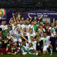 Africa Cup of Nations: Bounedjah's strike helps Algeria edge out Senegal to claim second title