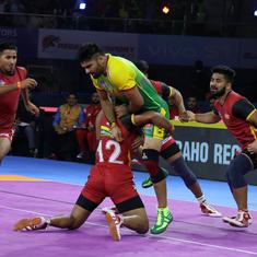 Pro Kabaddi 2019: Defending champs Bengaluru Bulls start with win; U Mumba beat hosts Telugu Titans