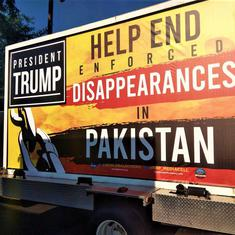US: Baloch groups campaign against 'enforced disappearances' in Pakistan ahead of Imran Khan's visit