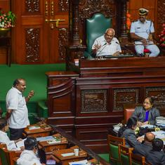 Karnataka crisis: Speaker insists floor test to be held today, but Kumaraswamy wants two more days