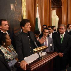 Pakistan PM Imran Khan says 30,000 to 40,000 militants still operate from his country