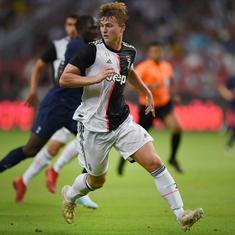 Record signing de Ligt scores own goal as Juventus, Inter Milan share spoils in heated friendly