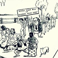 This book of cartoons about BR Ambedkar reveals the casteism (and misogyny) in his critics